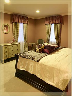 輸入住宅 寝室