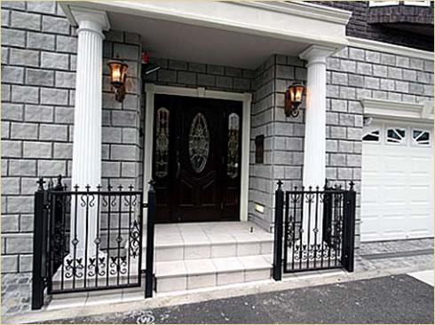 外壁材・化粧柱玄関ドア